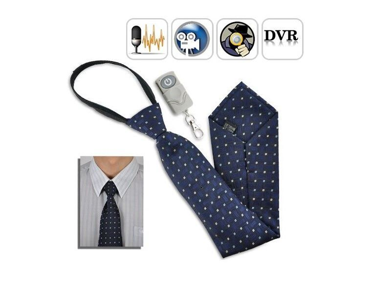 2014 Mini Camcorder Hidden Pinhole Camera Tie 4GB DVR Built-in Tie DVR Video and Audio Recorder with Wireless Remote Control