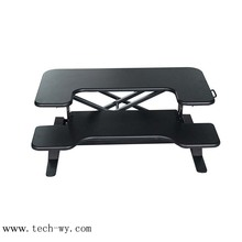 Material choice aluminium/steel custom frame laptop stand desk/table
