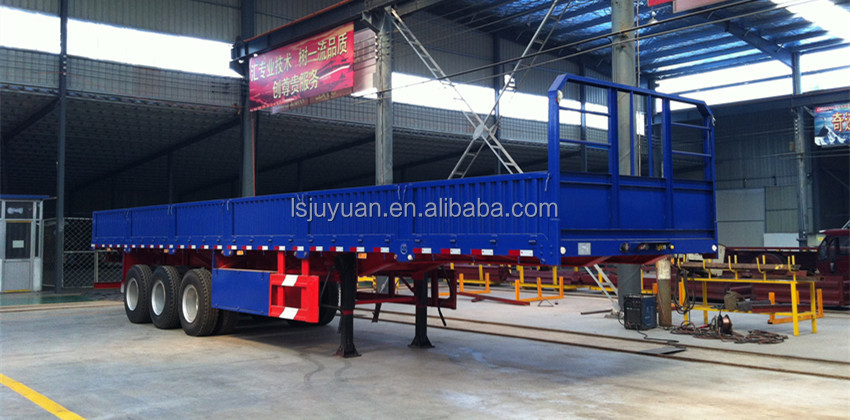 light weight side open trailer dimensions/drop deck semi trailer/side wall semi trailer