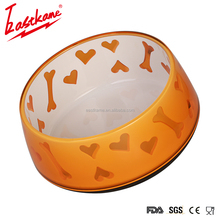 Eastkame hot Selling Colorful happy hunting pet feeder bowl healthy diet dog bowl slow eat feeding bowl