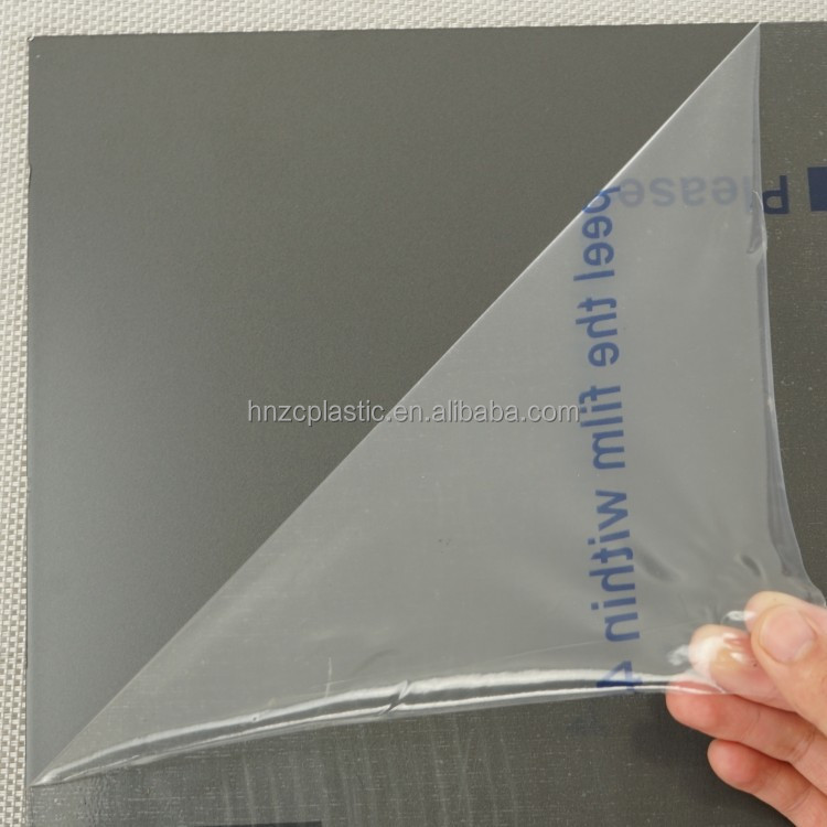 PE protective film for PVC window profiles