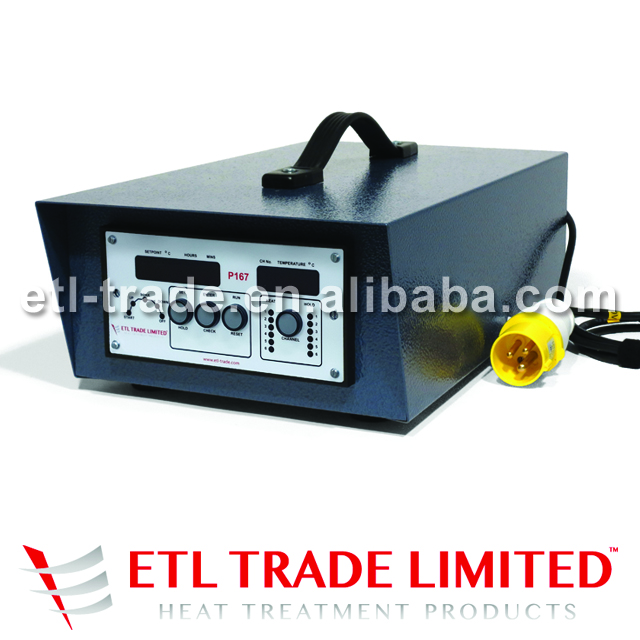 PWHT Automatic Programmer / Temperature Controller in Stainless Steel Case - 6 Channels for Transformer Power Units
