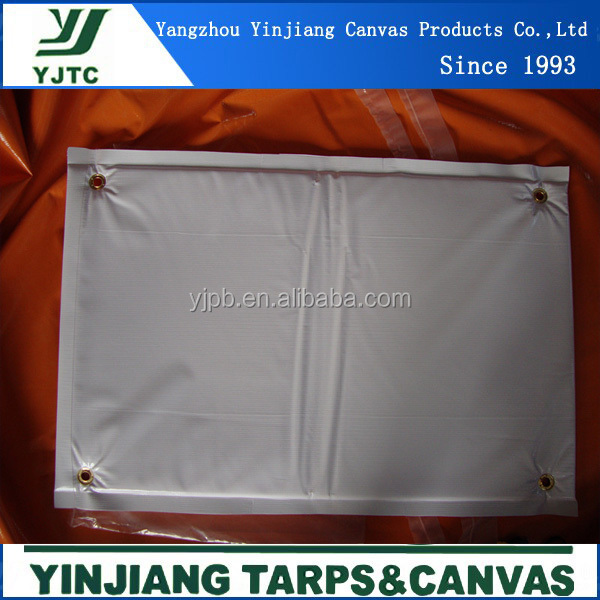 coated tarps with sponge and foam