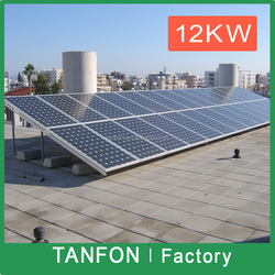 5Kw 6KW solar photovoltaic power kit system; solar panel kit commercial 20000 watt ;solar energy with battery backup 10kw