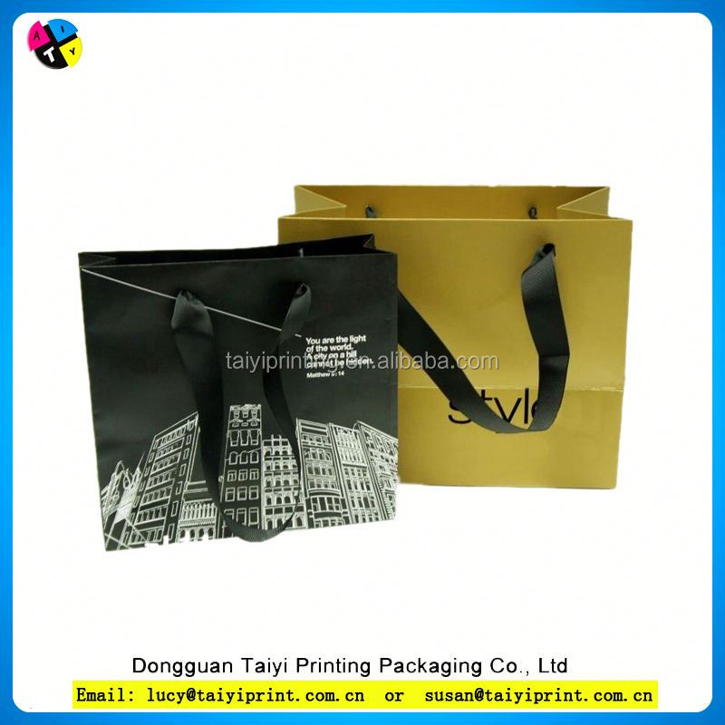 Customized printed everyday gift paper bag