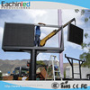 P8 big led screen outdoor advertising led billboard for fixed installation