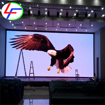 china high quality p6 stage background high resolution led displays /indoor p6 HD fixed video wall