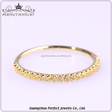 2017 High-End Simple Silver Mairco Paved Zc Latest Gold Finger Ring Design For Jewelry Accessories