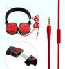 Good price colourful fast delivery wireless mp3 sport headphone