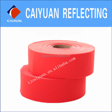 CY Red Reflective Tape Fabric