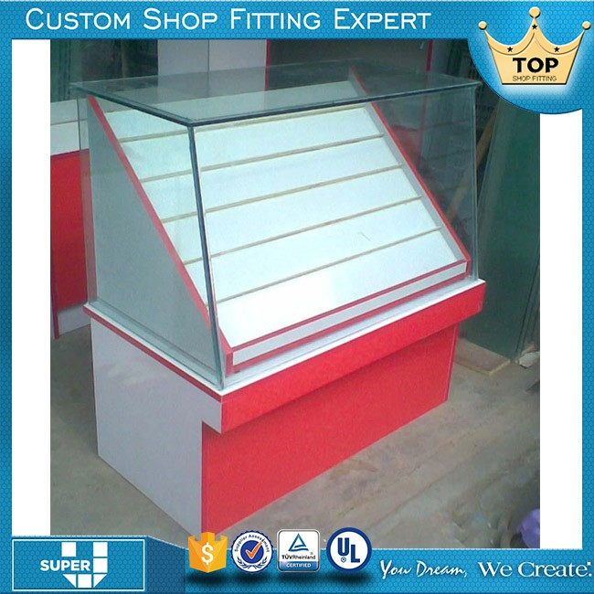 Newest Design Commercial Glass Display Cabinets In Malaysia