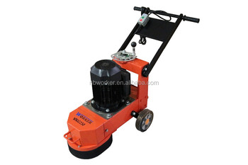 WKG250 concrete grinder epoxy floor grinding machine surface polishing