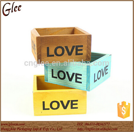 Custom small wooden gift boxes wholesale