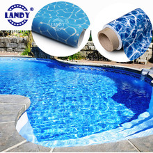 Swiming pool liner with 3d pvc material,pool liner swimming para piscina pvc