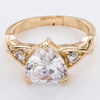Top Quality Fashionable copper alloy cheap wide gold rings without stones