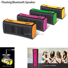 Colorful Bluetooth Music Speaker in waterproof and dustproof function atomic led waterproof speaker