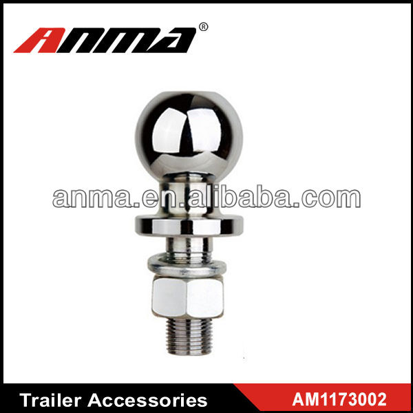 Black transportation ball car trailer hitch parts
