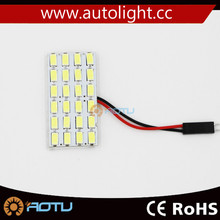 Car Dome 5630 Light ceiling light panel light 24smd 5630 white 12V