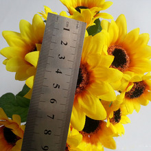 wedding flower stand decoration products made from sunflowers plastic