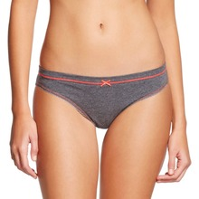 Simple design casual gray young women underwear