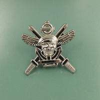 Zinc alloy government NYPD police award pin badge