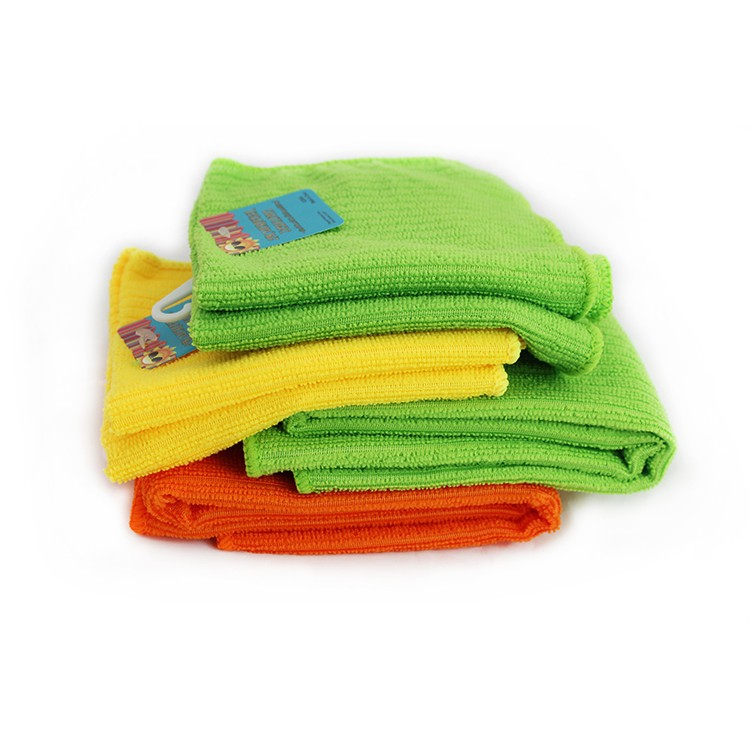 Cheap microfiber kitchen towel set