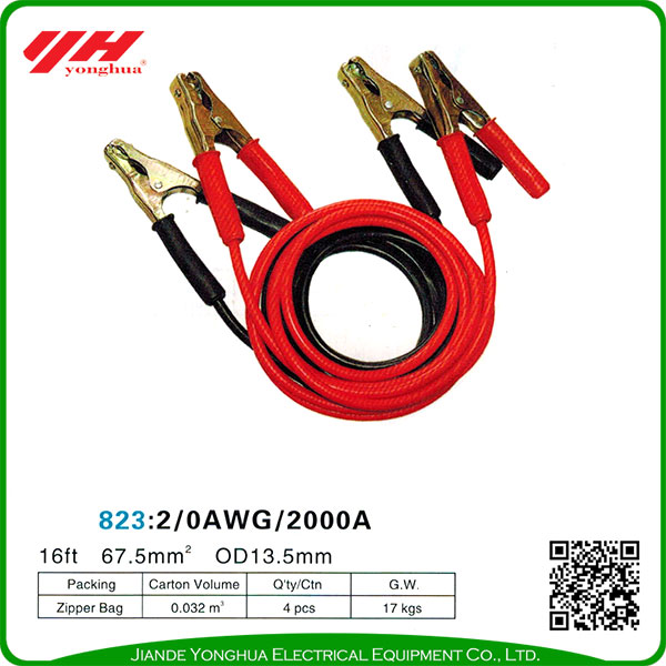 Heavy duty car booster cable