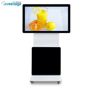 High Quality 55Inch 90 Degree Rotation Digital Advertising Panel Wifi Network Display