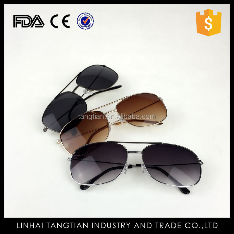 TTY-0310 OEM factory fashional sunglasses wholesale custom Promotional stainless 2016 sun glasses