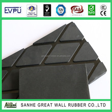GW4003 high qulaity Thin Diamond Pulley Lagging Rhombus Rubber Matting (stable mat)