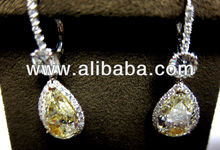 USGA CERTIFIED 10.00 CTTW 5 CT EACH FANCY YELLOW PEAR SHAPE DIAMOND DIAMOND TOP 1.70CTW MICRO1.38CT