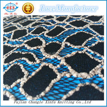African Wedding Dress Stone Embroidery Cord Lace Fabric for Clothes /Garments