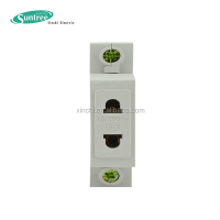 230V 16A/15A/10A Din Rail Secure Electrical Socket