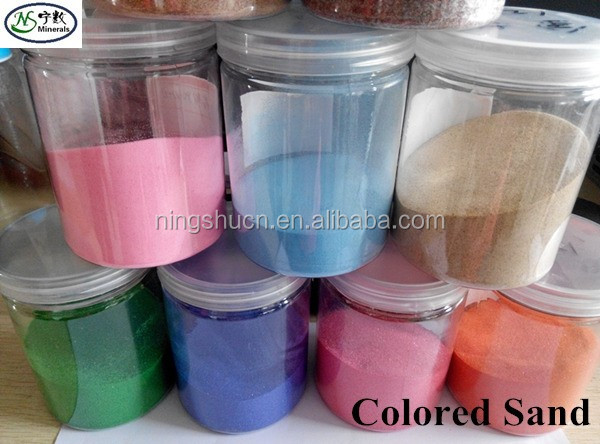 any size & colour of colored sand for wedding, arts, carfts, and play