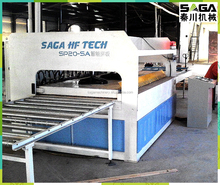 SAGA RF Beech Lumber Edged Glue Machine For Wood