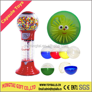 Plastic Capsules With Toys