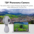 720 Degree Panorama Network Camera WiFi Connection App Support Video Clip and Music Editing