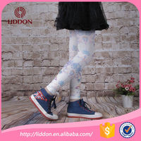 Wholesale cheap kids colored footless tights for girls