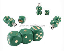 8gb wooden dice model usb memory stick novelty Gambling Dice USB Flash Drives thumb pen drives memory
