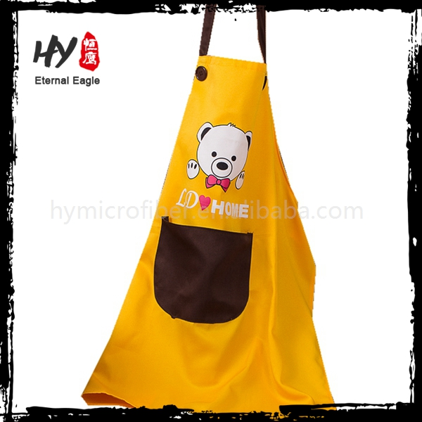 High quality household cleaning disposable non woven apron with CE certificate
