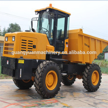 5ton four wheel drive site dumper, Construction Building Machinery Dumping Self Loading Mini Site Dumper