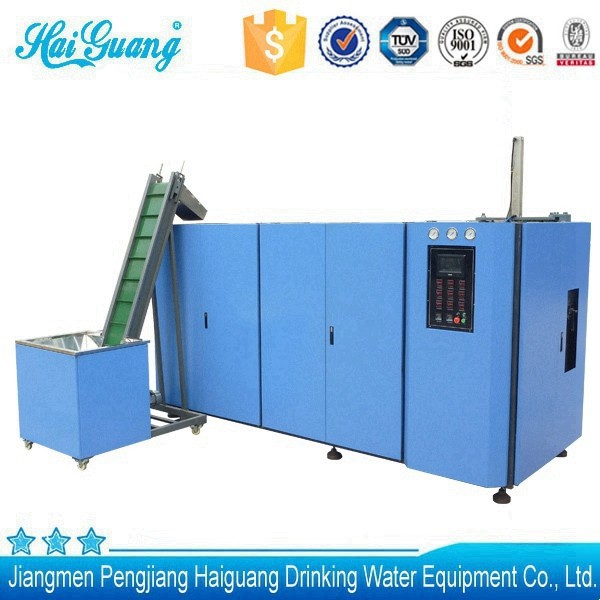Good quality china hand feeding blow molding machine