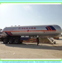 New design 55000 litres durable iso butane lpg trailer