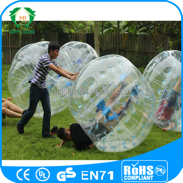 Health sport game! bumper ball prices,human inflatable bumper bubble ball,inflatable bumper ball for sale