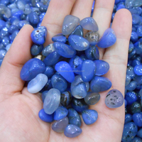 kinds of colorful natural semi precious tumbled quartz crystal stone chips wholesale