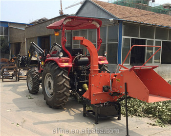 CE approved good performance 3 point hitch wood chipper