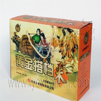 Rice packing used eco-friendly corrugated carton box with high quality and printed colors