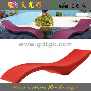 slumber bed lounger, wave chaise lounger, outdoor plastic sun lounger