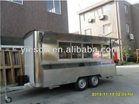 Good Quality Mobile Catering Food Van/mobile catering trailer YS-FV450