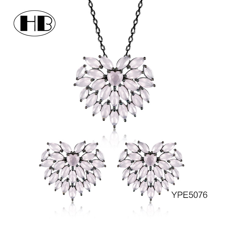 YPE5076 2017 Design Wholesale Silver Jewely Guangzhou Fashion Jewelry Market